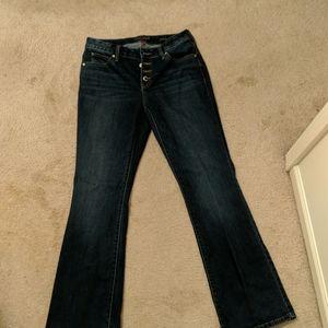 J Lo bootcut jeans